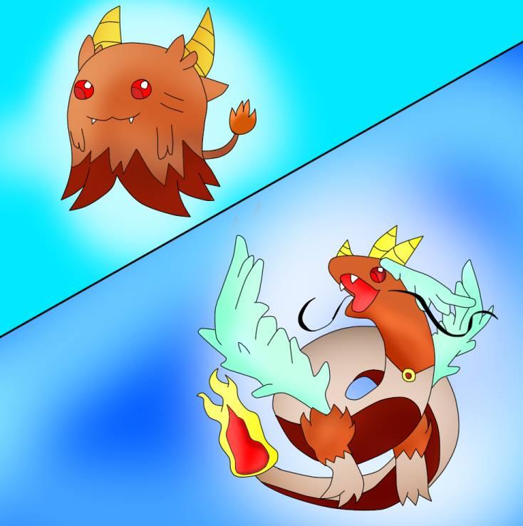 fyrito dragon transform by LadyTakerFandub