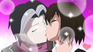 tanaka gundham x lady taker kiss by LadyTakerFandub