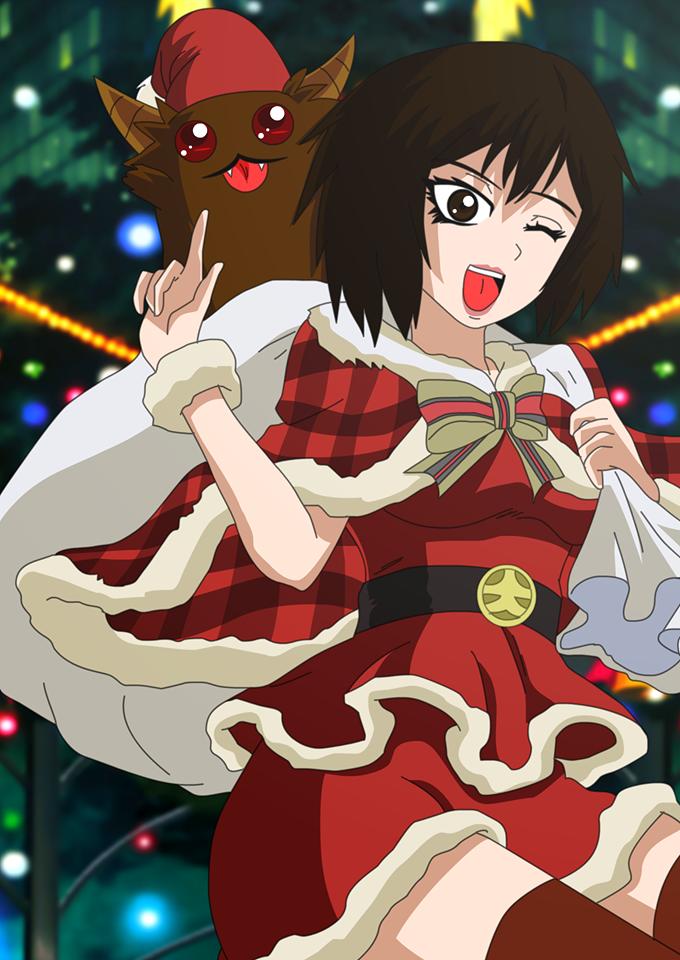 lady taker christmas card by LadyTakerFandub