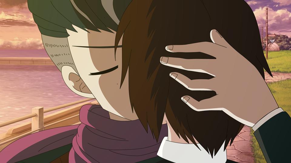 Tanaka GundhamXLady Taker kiss by LadyTakerFandub