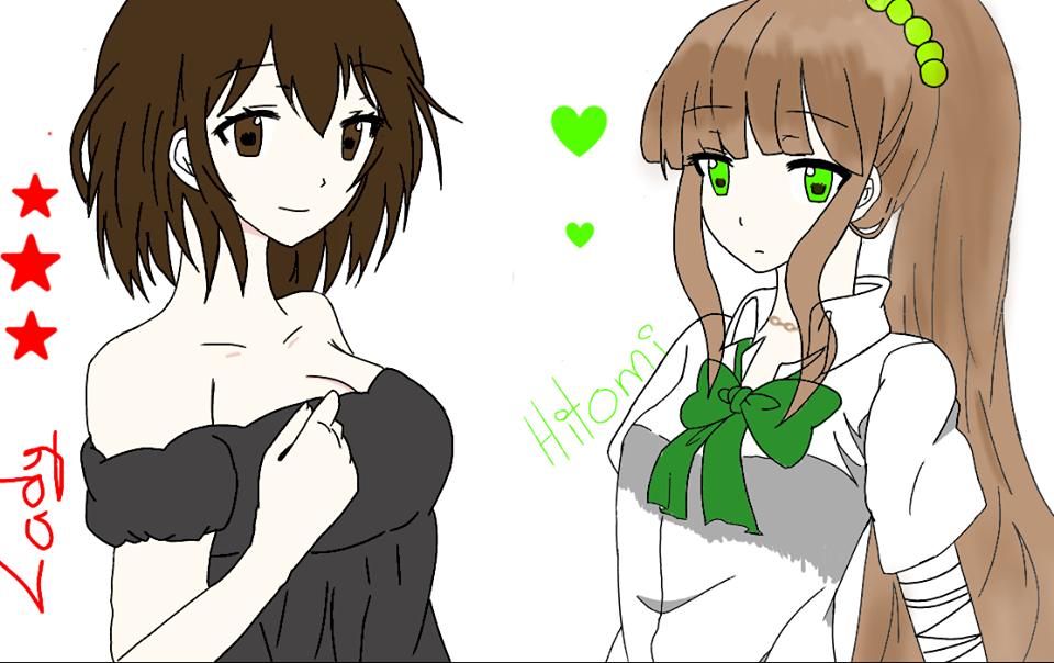 Lady Taker and Hitomi by LadyTakerFandub