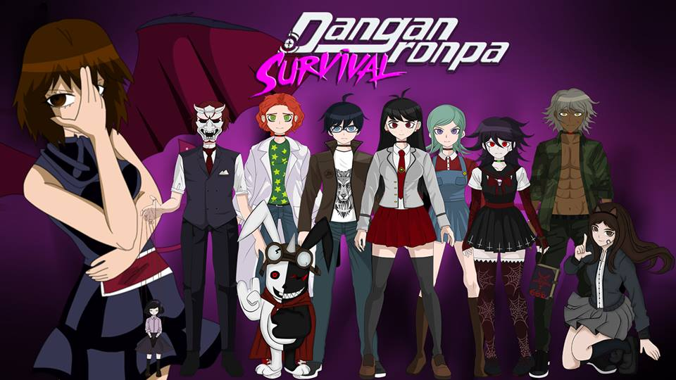 Danganronpa Survival Poster by LadyTakerFandub