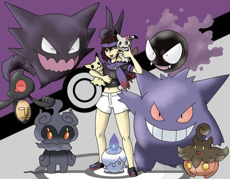 Lady Taker with pokemon