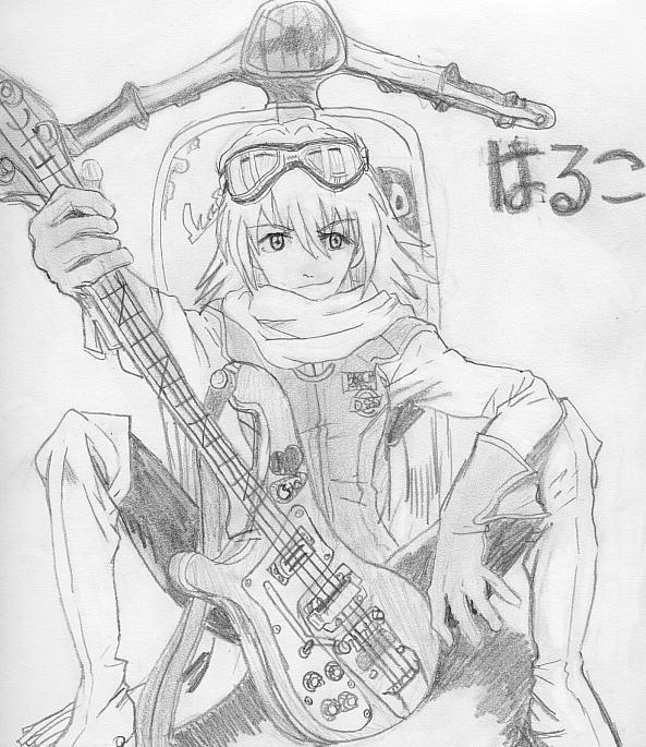 Haruko by mayuka-chan