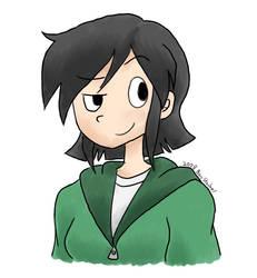 Cartoon Face Nona by GreenMage