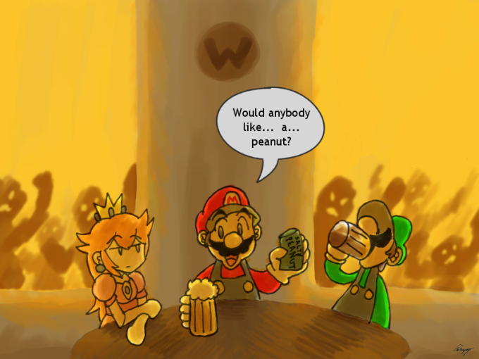 Mario of the Dead by GreenMage
