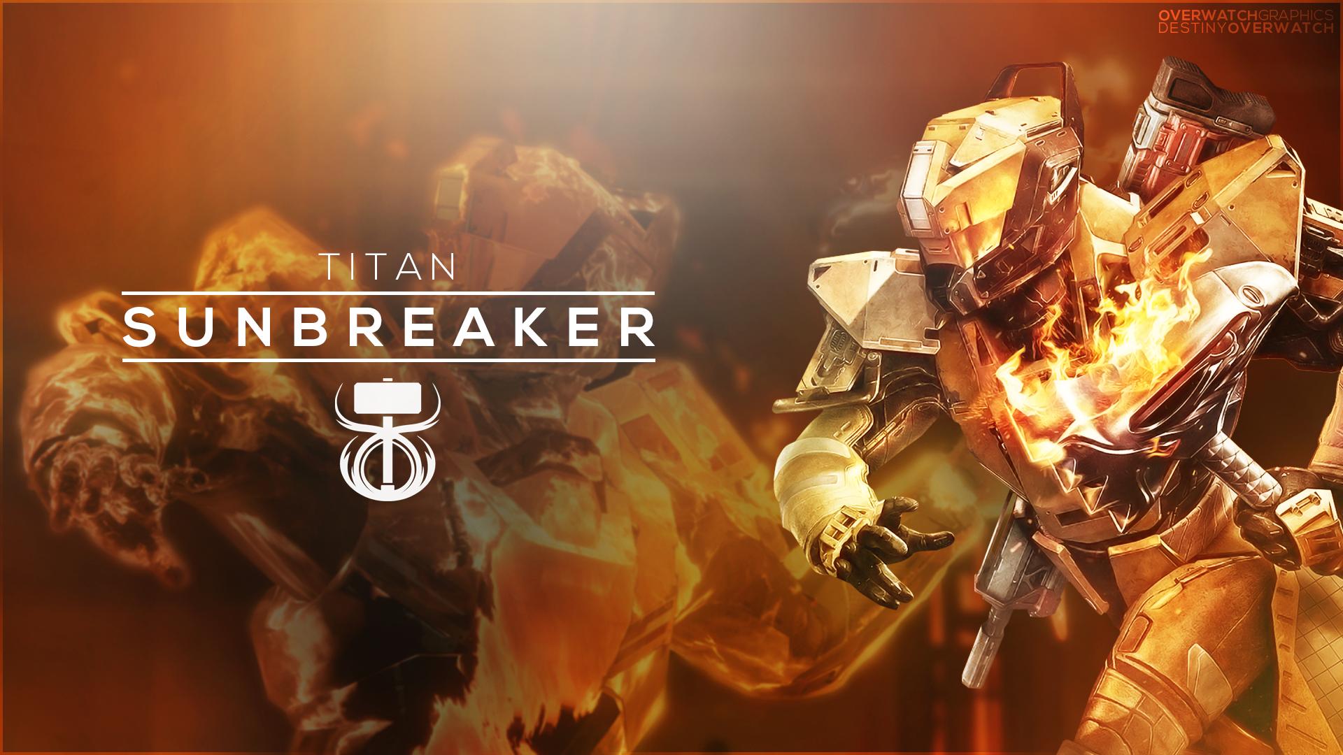 Destiny the Game - Sunbreaker Wallpaper by OverwatchGraphics