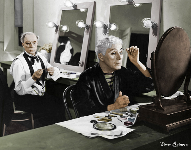 Keaton And Chaplin In Color By Dontforgetfrank On DeviantArt