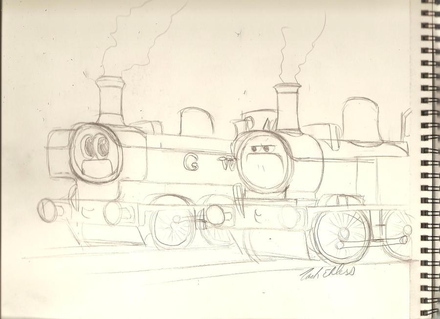 DeviantArt: More Artists Like Trainz GWR King '6001' by BlueB12