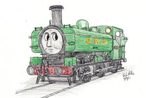 Duck the GWR 57xx by NSL714