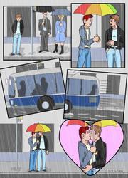Bus Stop, Wet Day... by SakkeM