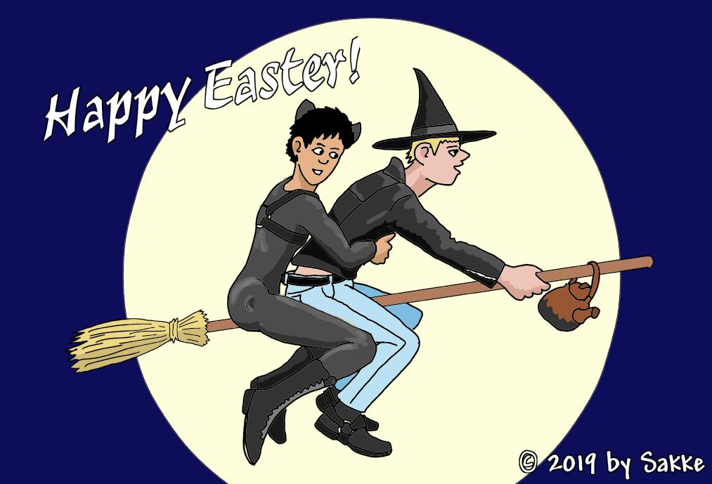 Easter's Greeting! by SakkeM