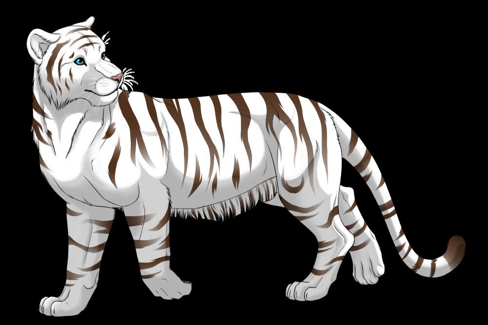 White Tiger by DarkRika on DeviantArt