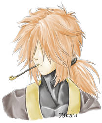Shigure Sketch by DarkRika