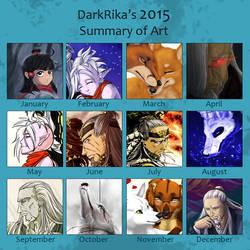 Meme - Summary of Art 2015 by DarkRika