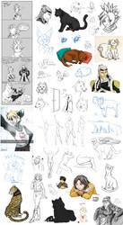Big Sketchdump 2015 by DarkRika