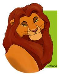 Bestest Lion Dad by DarkRika