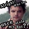 Hatter wants his hat back by OnWingsOfBlue