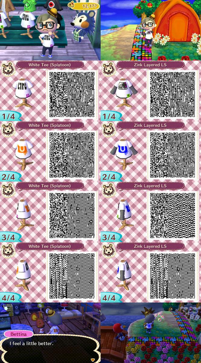 Splatoon Shirts Qr Codes By Chainchomp7 On Deviantart