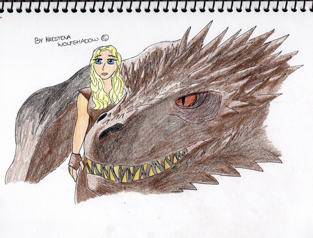 game of thrones drogon drawing by krestenawolfshadow on