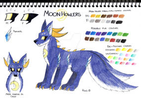 New Moon Howler Reference Sheet