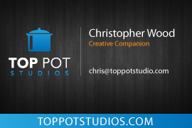 Business card design-back by christopherw74