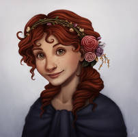 Commission: Roses by Eminina