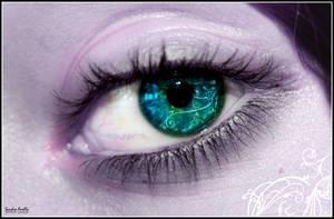 Nightelf eye by xXSidewinderXx