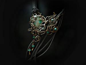 lizard of turquoise
