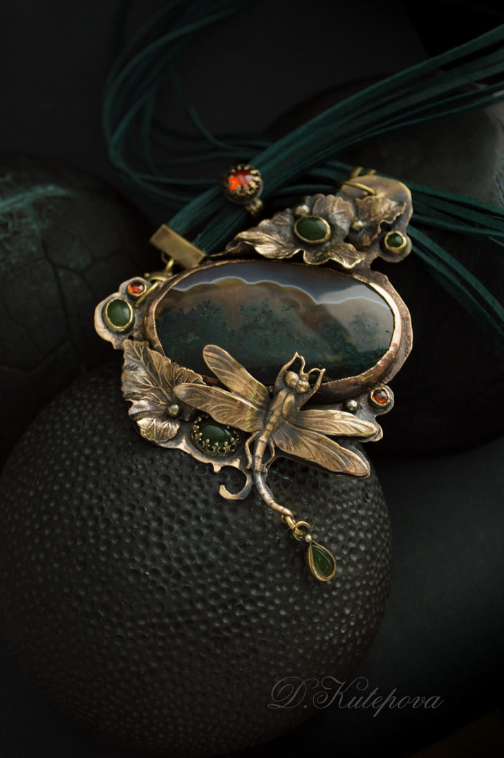 pendant want to go there by DARiyaKUTEPOVA