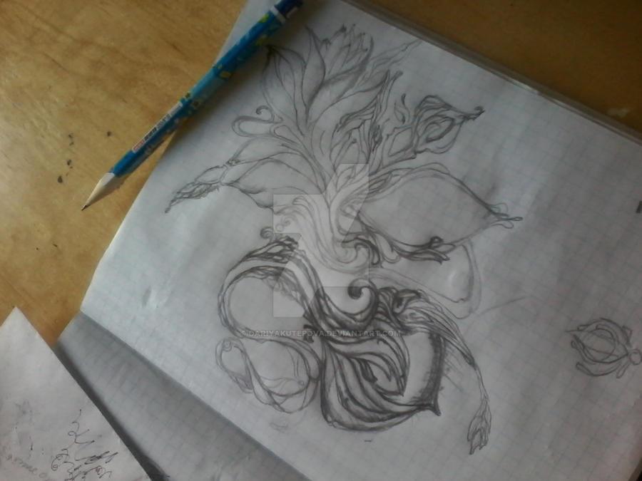 sketch by DARiyaKUTEPOVA