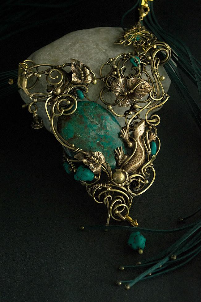 turquoise by DARiyaKUTEPOVA