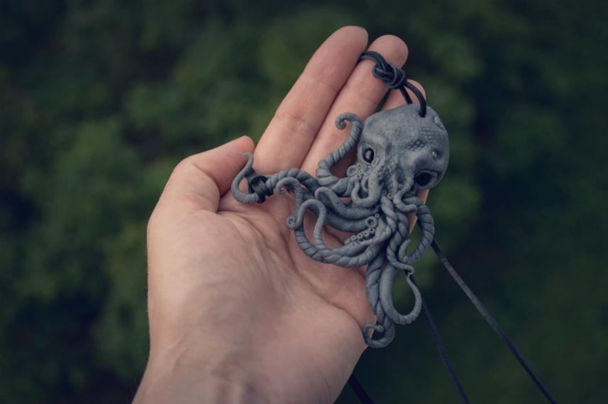octopus polimer by DARiyaKUTEPOVA