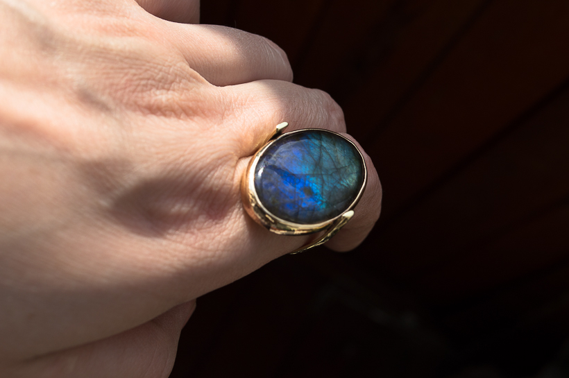 labradorite rings by DARiyaKUTEPOVA