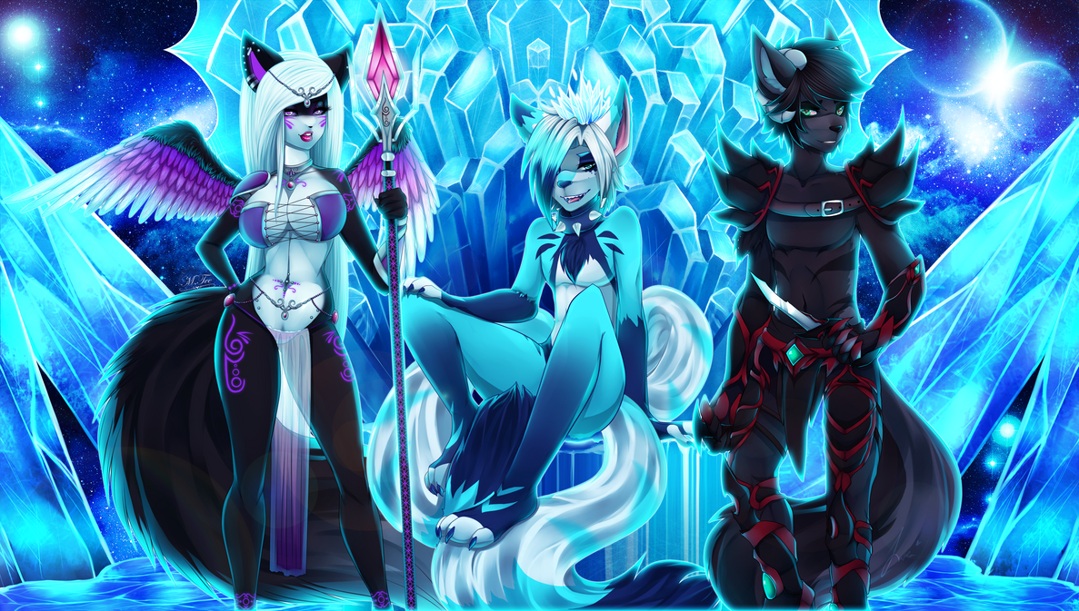 COLLAB: Protectors of the Frost by xXMTeeXx