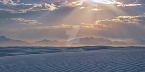 White Sands Afternoon Sun
