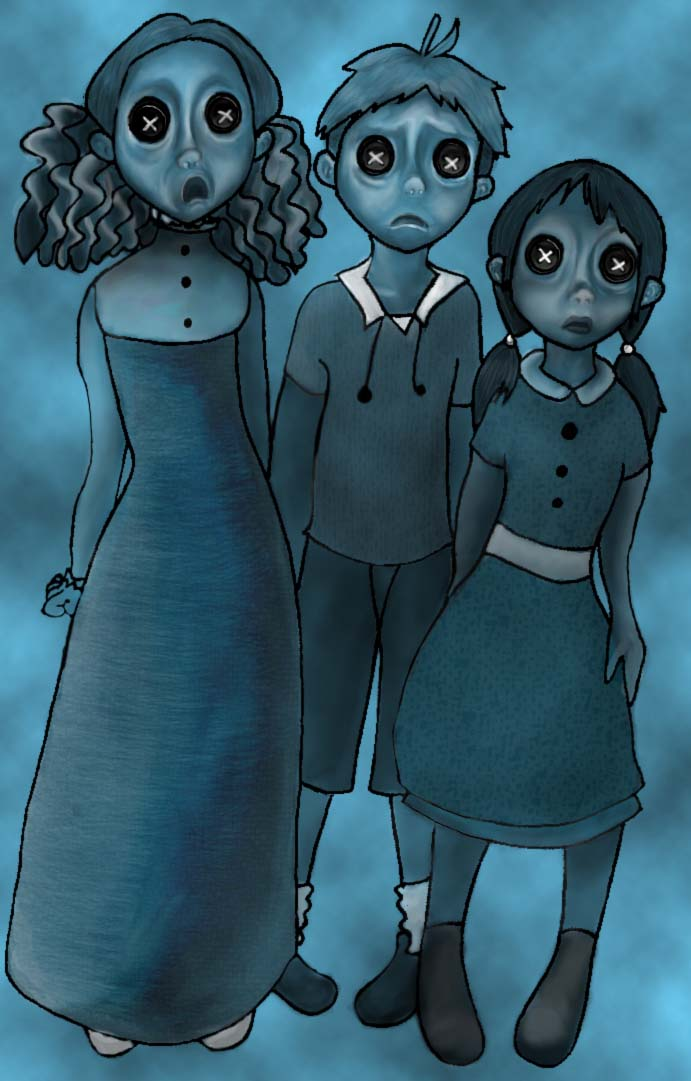 The Ghost Children Of Coraline By Xochi Bonana On Deviantart