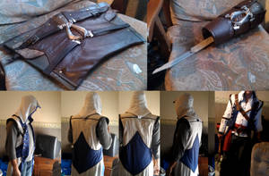AC3 Connor Gear, Hood and Vambrace 2.0 by Trujin