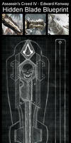 ACIV - Edward Kenway - Hidden Blade