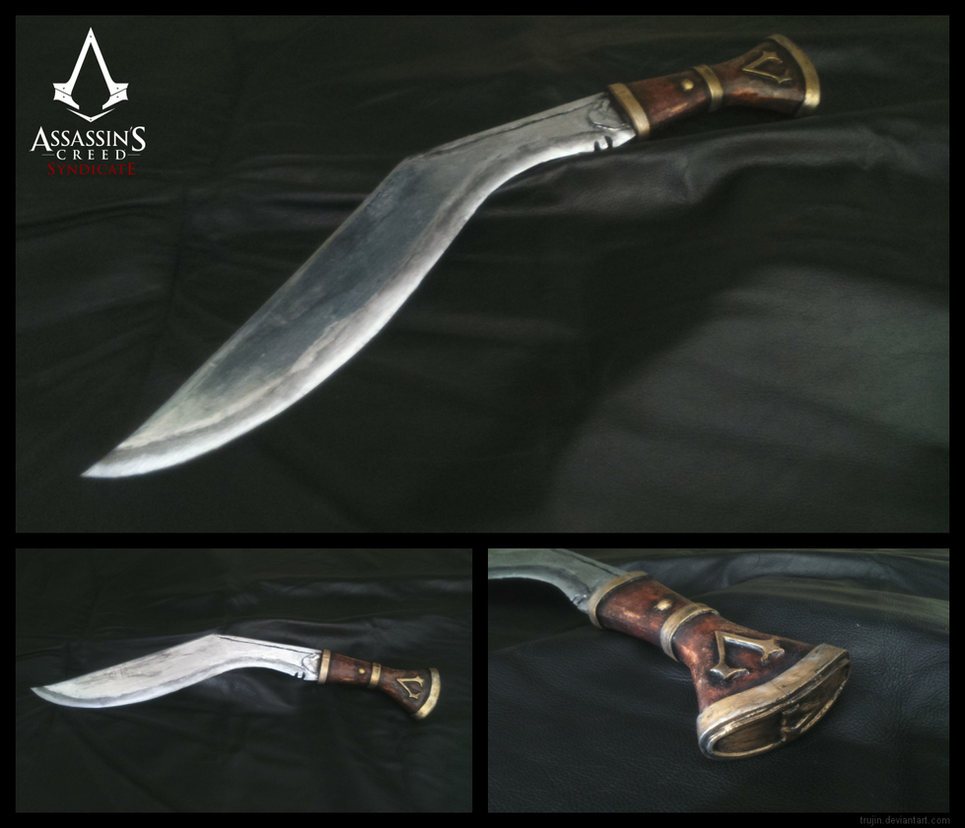 Jacob Frye's Kukri by Trujin