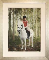 Girl on horse. by rorsdors