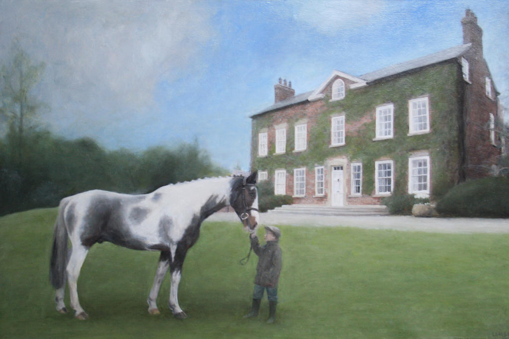 House-and-horse by rorsdors