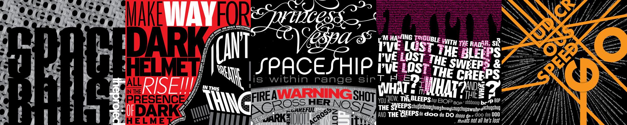 Spaceballs the Typography