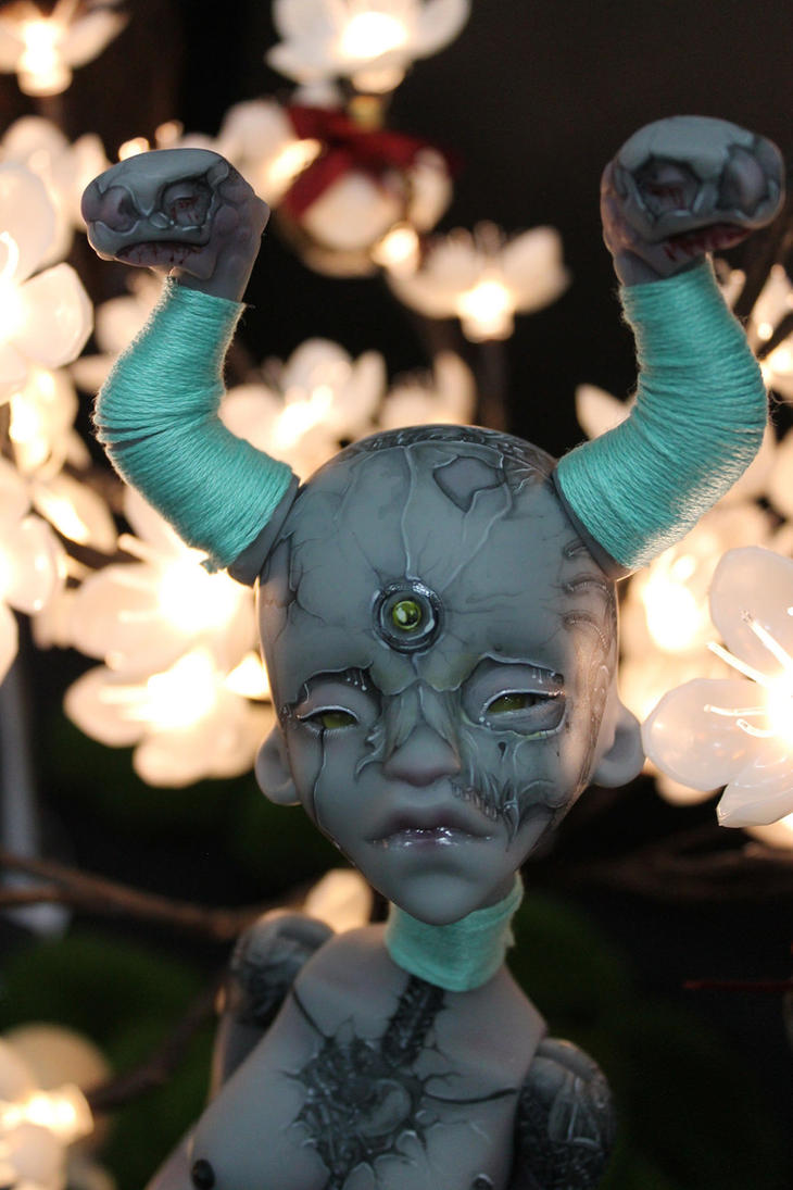 My Nyx at LDoll festival ! by Misterminoudolls