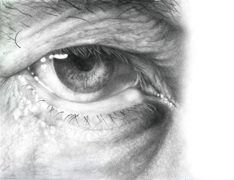 pencil eye by bacopulos