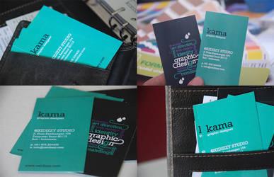 oxidizzy business card design