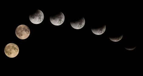 Moon Eclispe by BaptisteWSF