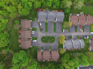 Drone shot from above my house, May 22