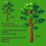 Pixelart tree