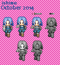 RPGmaker XP - Statue of RTP's Fighter02 by ishime